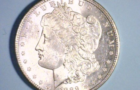 Silver dollar 1889